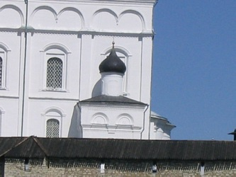 Trinity Cathedral in Pskov Kremlin.